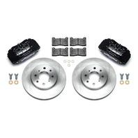 WILWOOD Brake Kit Front Honda/Acura Black P/N - 140-12996