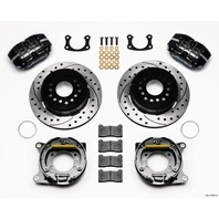 WILWOOD P/S Rear Brake Kit New Big Ford Drilled 2.5in P/N - 140-13181-D