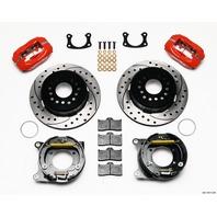 WILWOOD Rear Disc Brake Kit with Park BOP 2.75in Offset P/N - 140-13511-DR