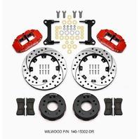 WILWOOD Front Disc Brake Kit C10 Pro Spindle 12.19in P/N - 140-15302-DR
