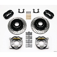 WILWOOD P/S Park Brake Kit Small Ford 2.66in P/N - 140-7143-D