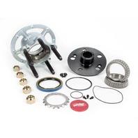 WINTERS Steel 5x5 Rear Hub w/ Coarse Studs - Platinum P/N - 2255C-P