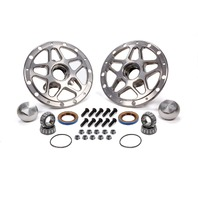 WINTERS Forged Alum Direct Mount Front Hub Kit Silver P/N - 3980C