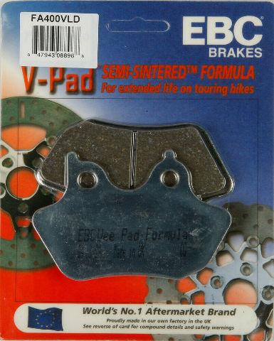 201 BREMSBELÄGE VLD CHROME EBC vorn FA457VLD Harley Davidson FXDWG 1584 GP4 Bj