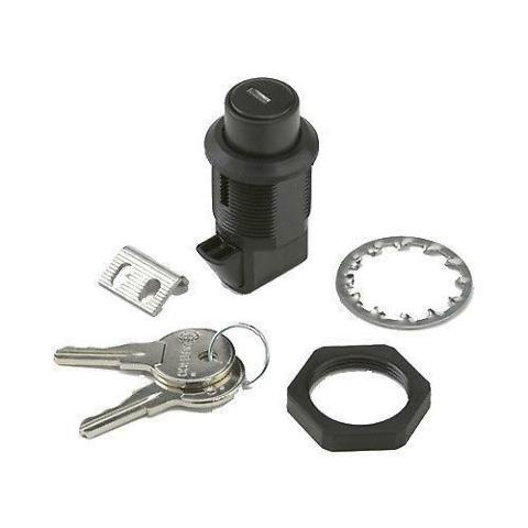 National Cycle 80-860001-000 Cruiseliner Push Lock with Shutter