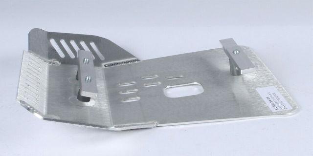 Devol Brushed Aluminum Skid Plate w//Oil Hole 0102-2404