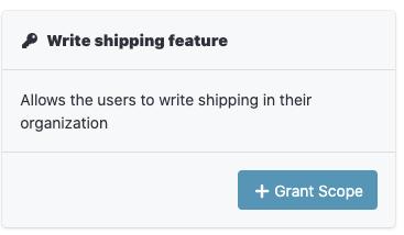 Shipping API Permissions