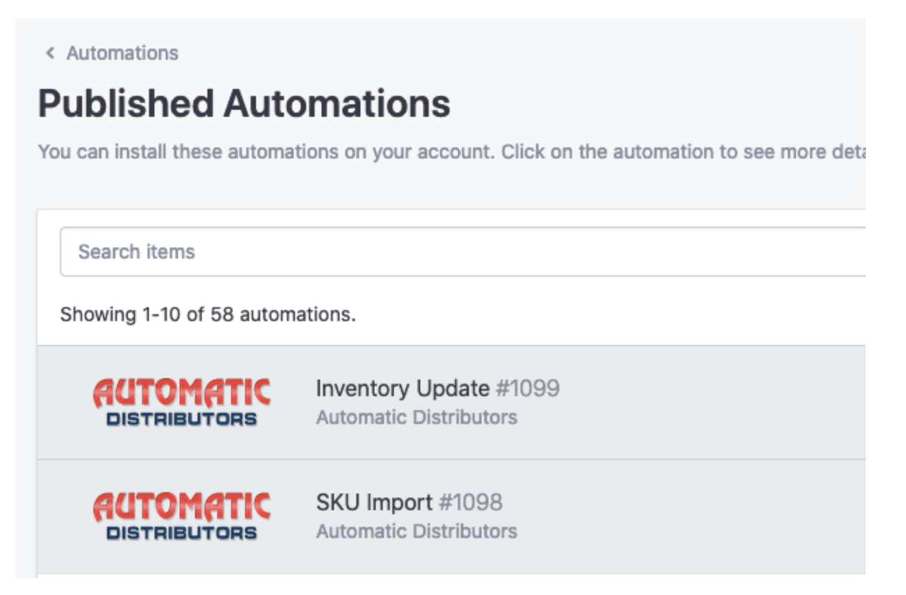 Automations