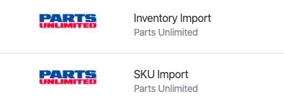 Parts Unlimited integration